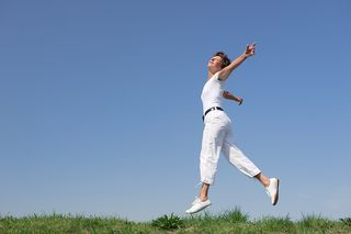 Bigstock-Active-senior-woman-is-jumping-26447909