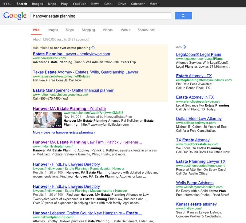Pat Kelleher Google Search Results