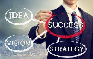 Bigstock-Businessman-Circling-Success-41064631