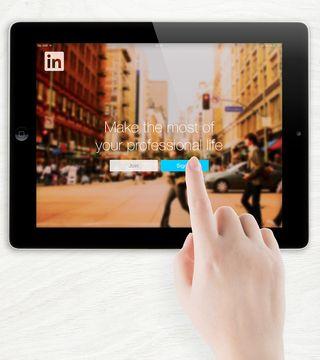 Bigstock-LinkedIn-Login-page-on-Apple-i-67994098