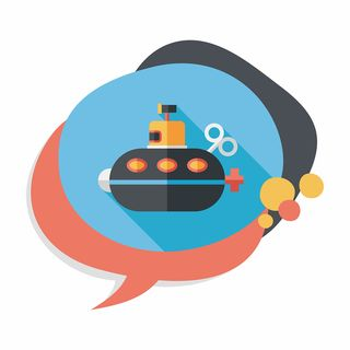Bigstock-Submarine-Flat-Icon-With-Long--88437152