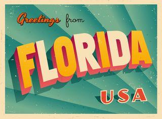 Bigstock-Vintage-Touristic-Greeting-Florida Car-45445180