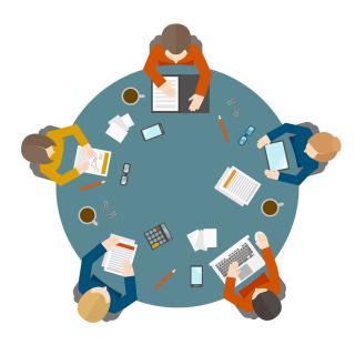 Bigstock-Business-meeting-in-top-view-68203792