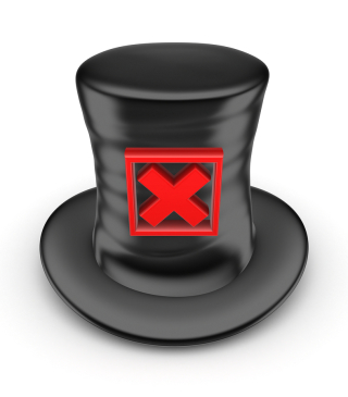 Bigstock-Black-top-hat-with-red-cross-m-43647202