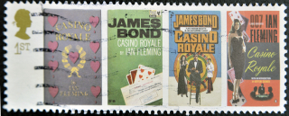 Bond James Bond -stamp-printe-61890386