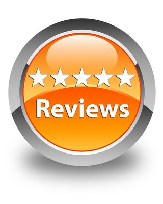 Bigstock-Reviews-Glossy-Orange-Round-Bu-80787776