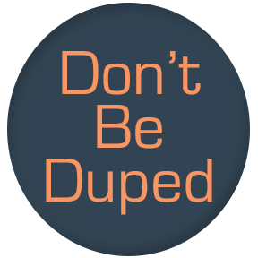 Icon-dont-be-duped