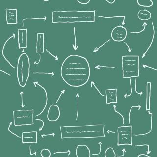 Bigstock-management-scheme-on-a-green-b-28929164