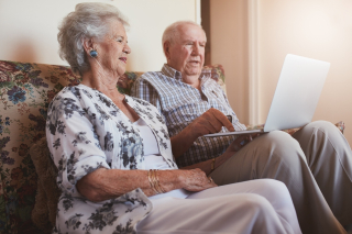 Bigstock-Senior-Couple Laptop Emails On-A-Cou-130386542