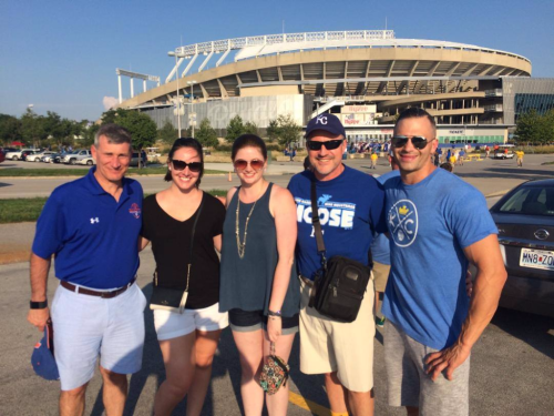 Hanging with Clients at The K in Kansas City