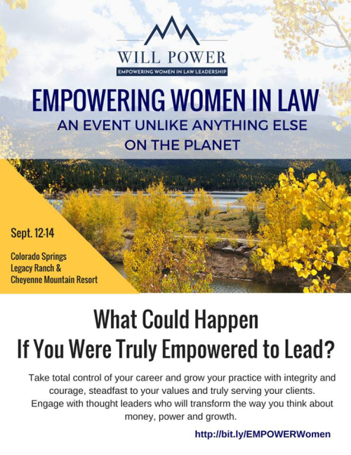 Empowerment Retreat flyer